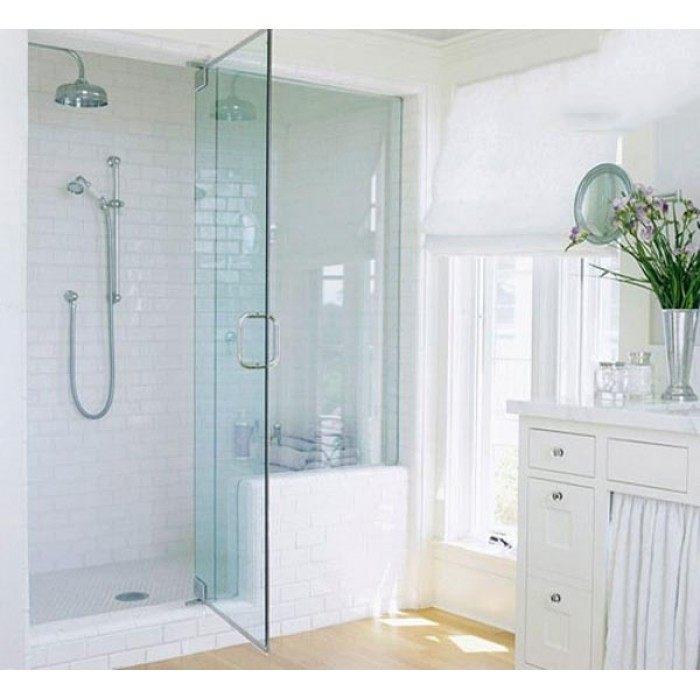 Những lý do nên lắp đặt vách kính cường lực phòng tắm